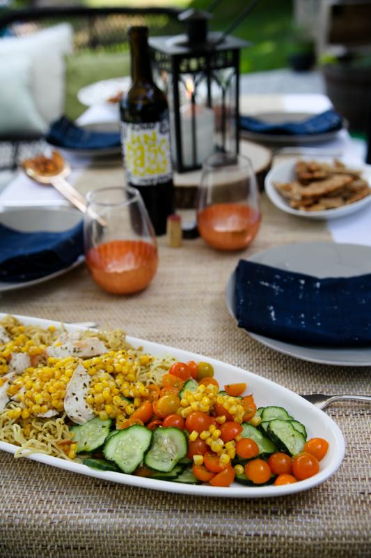 Blue Apron corn salad