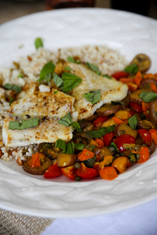 Blue Apron code with eggplant