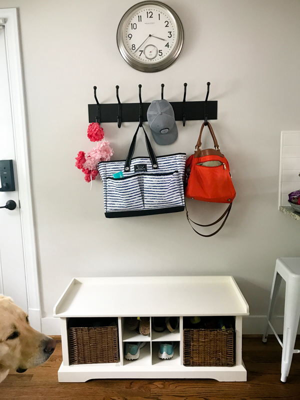 pottery barn coat rack