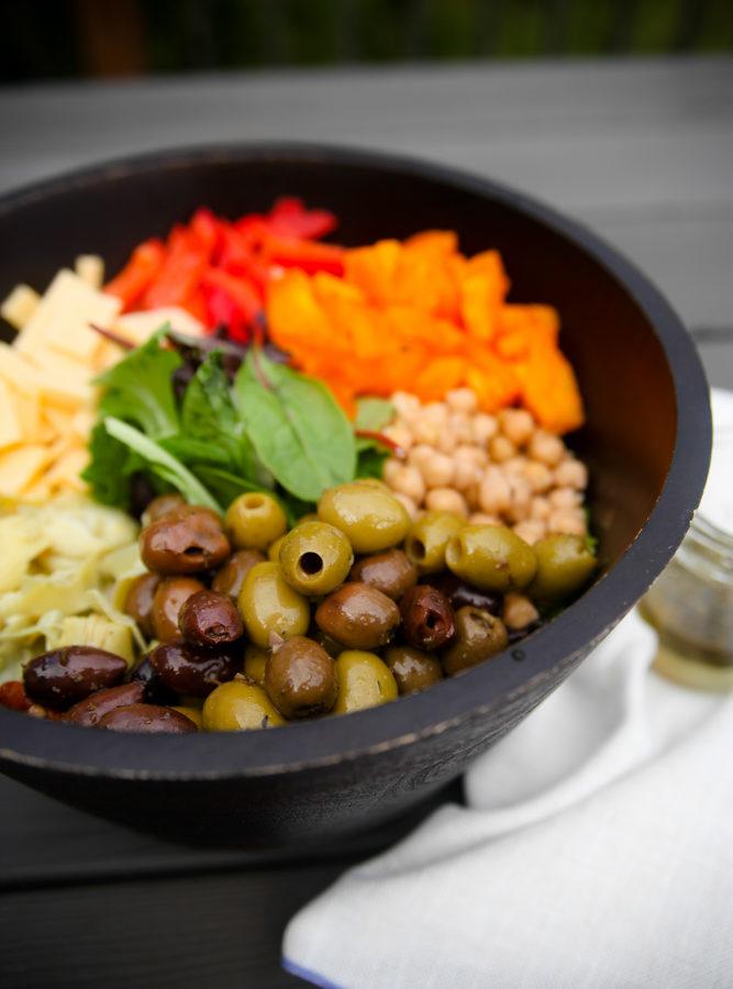 Simple Tuscan Salad