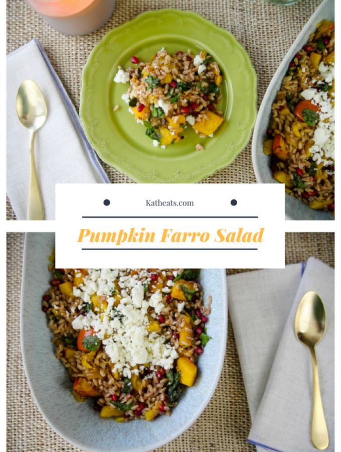 Pumpkin Farro Salad
