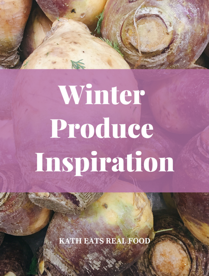 Winter Produce Inspiration
