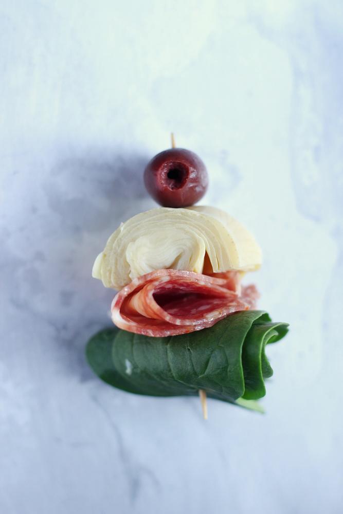 Antipasto Salad toothpick appetizer