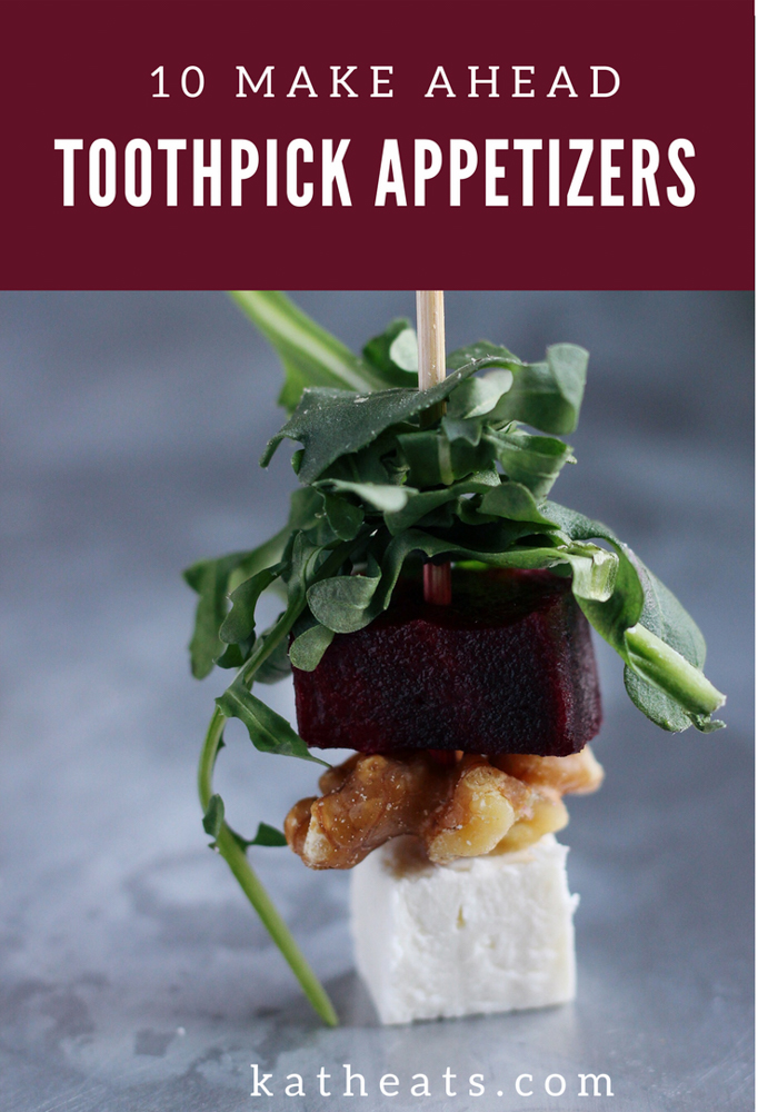 toothpick appetizers graphic