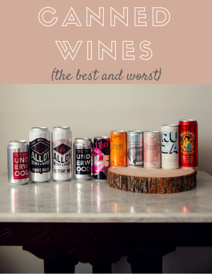 Canned Wine Review: The Best And Worst