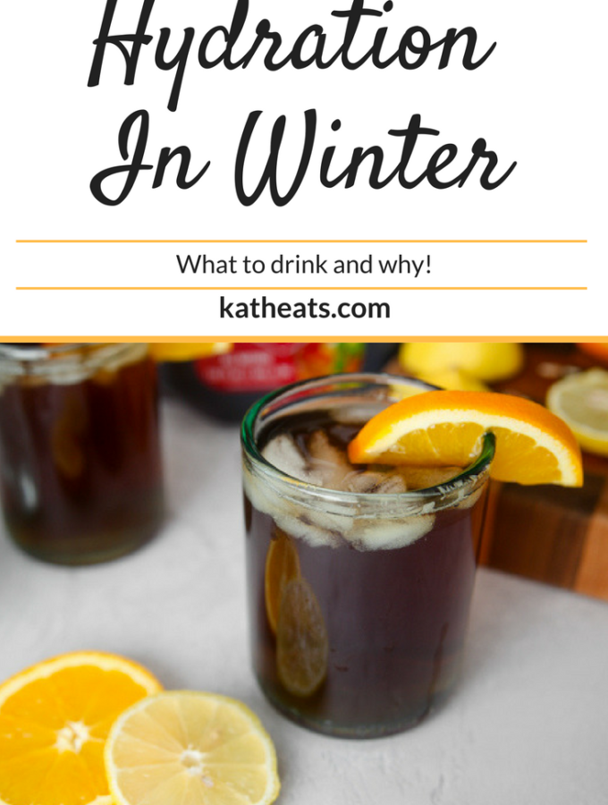 Hydration In Winter: What To Drink