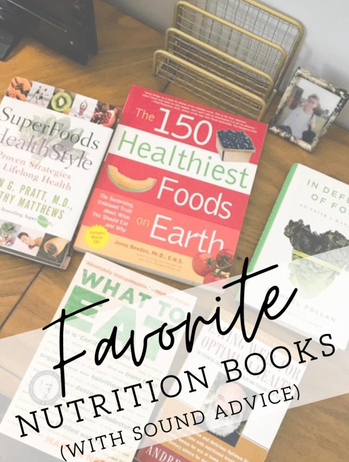 5 nutrition books