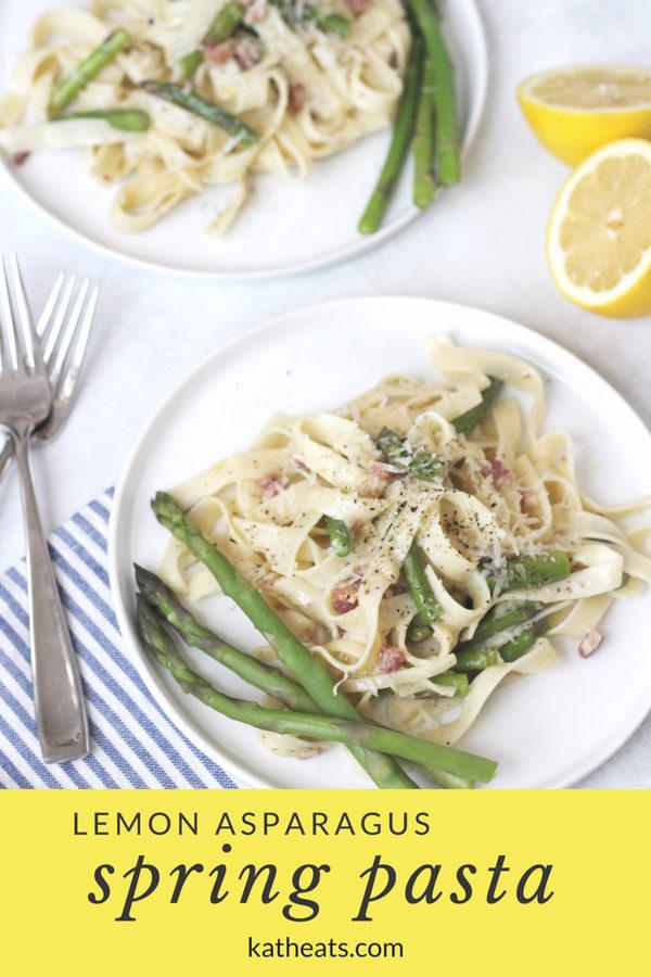 Lemon Asparagus Spring Pasta