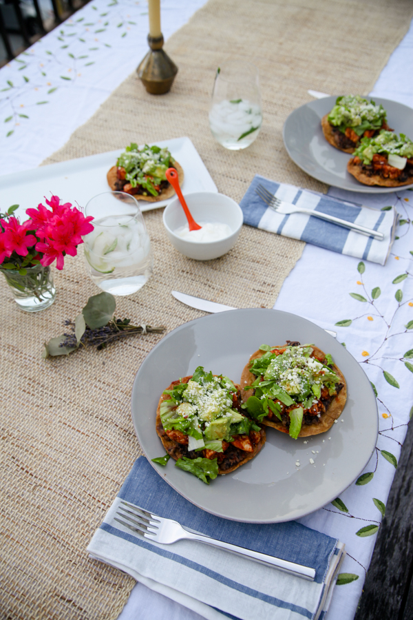 Tostadas Al Fresco Kath Eats Real Food