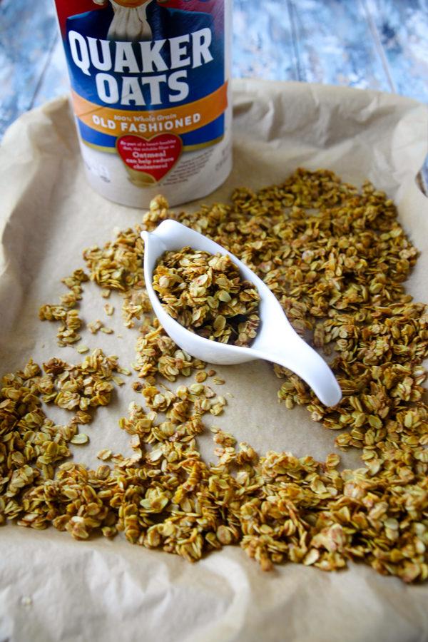Golden Turmeric Granola