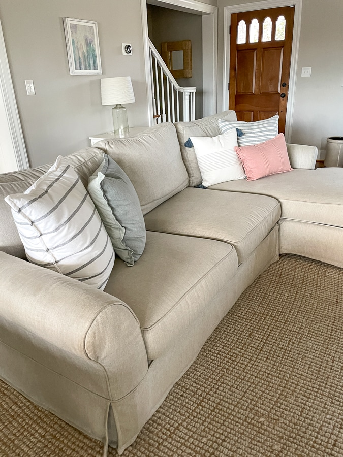 pottery barn couch review