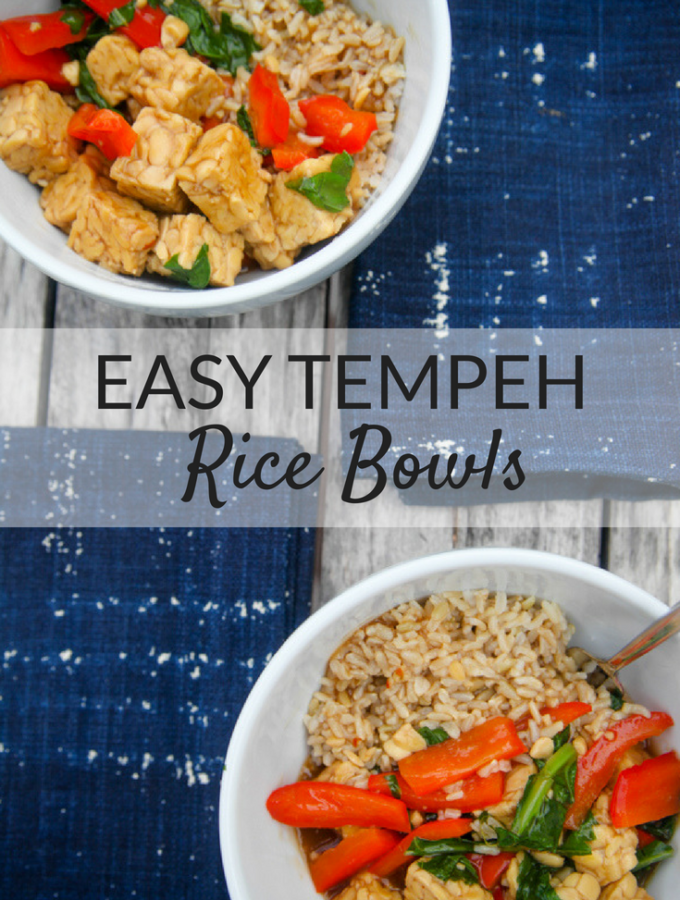Easy Tempeh Rice Bowls