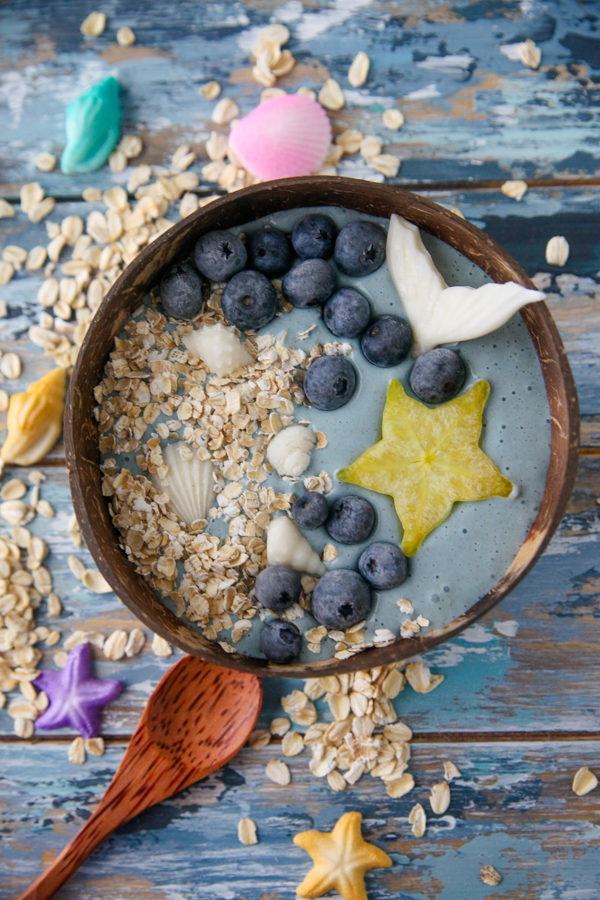 Mermaid Smoothie Bowl