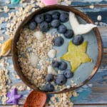 mermaid smoothie bowl