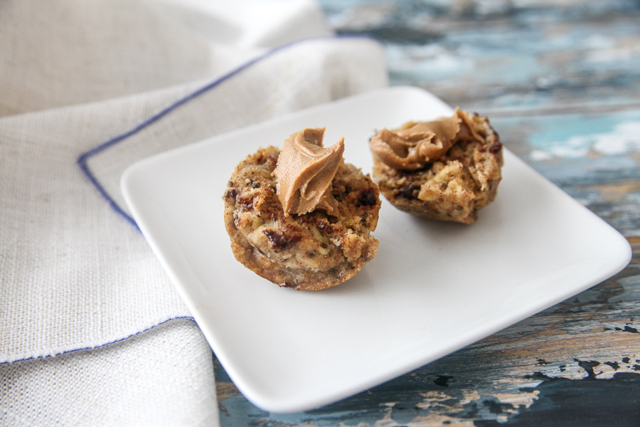 instant pot muffins with peanut butter