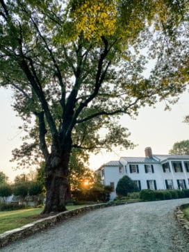 The Clifton hotel in Charlottesville