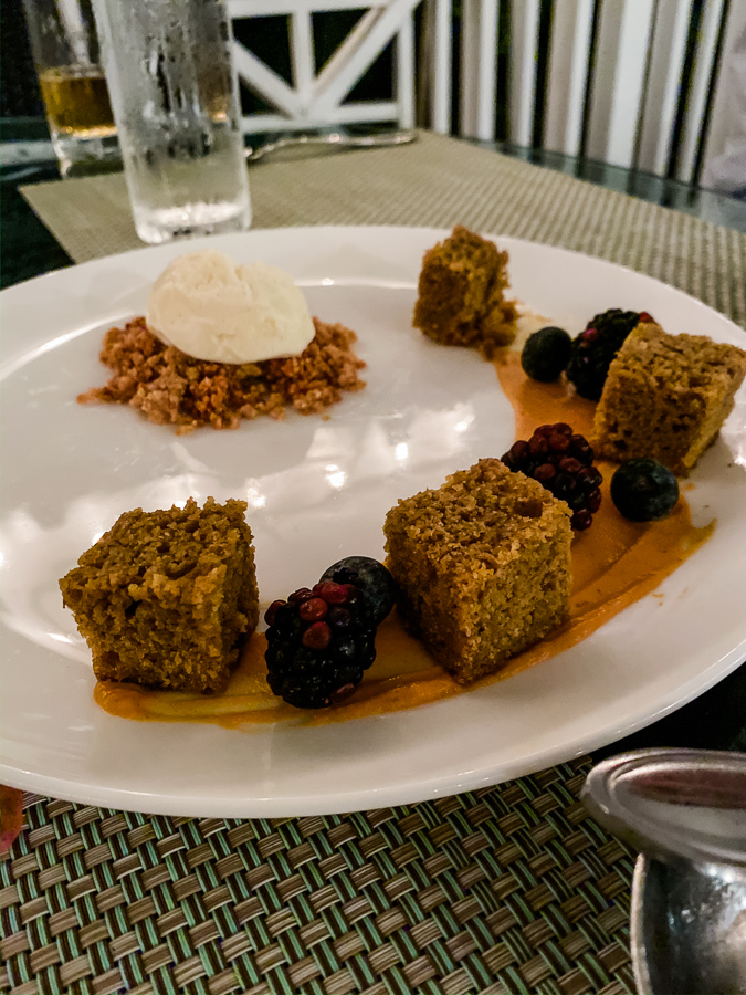 Pumpkin Cake at The Clifton