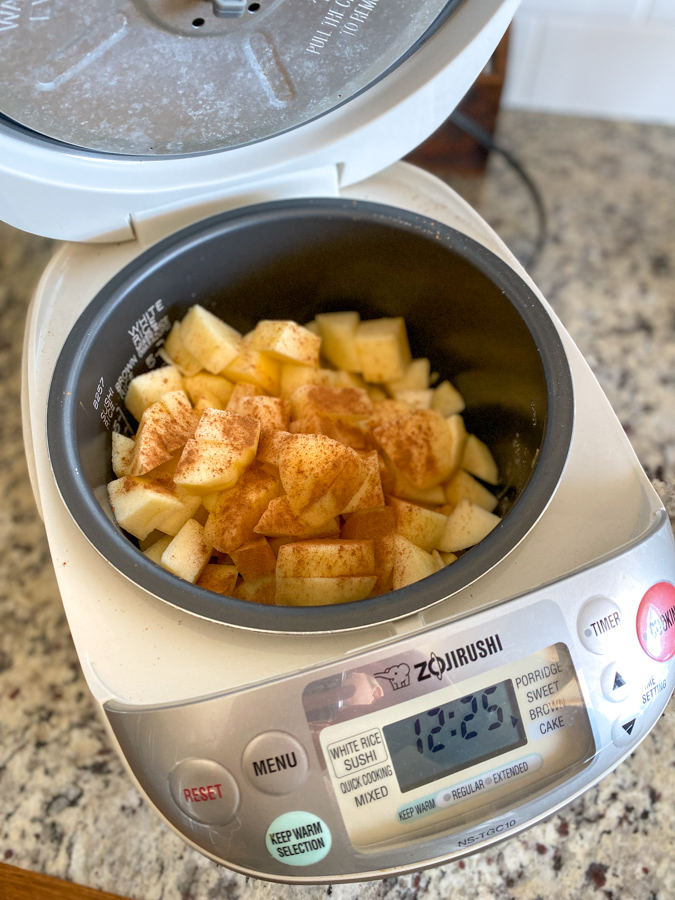 soft cinnamon apples recipe