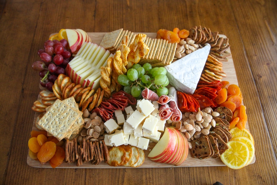 Charcuterie Board details added