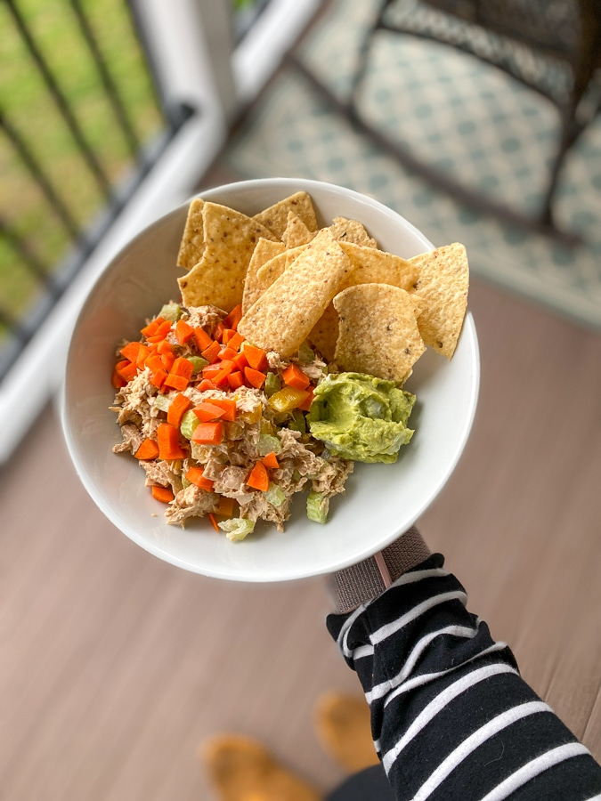 tuna salad bowl
