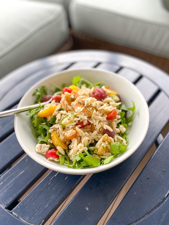 orzo shrimp salad