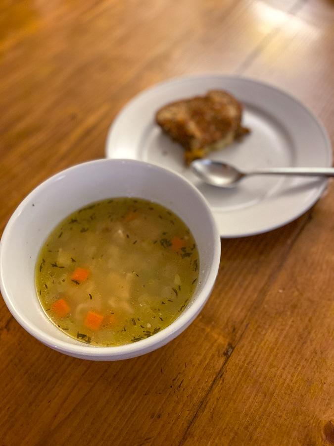 chicken noodle alphabet soup