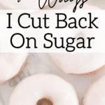 donuts with sugar graphic