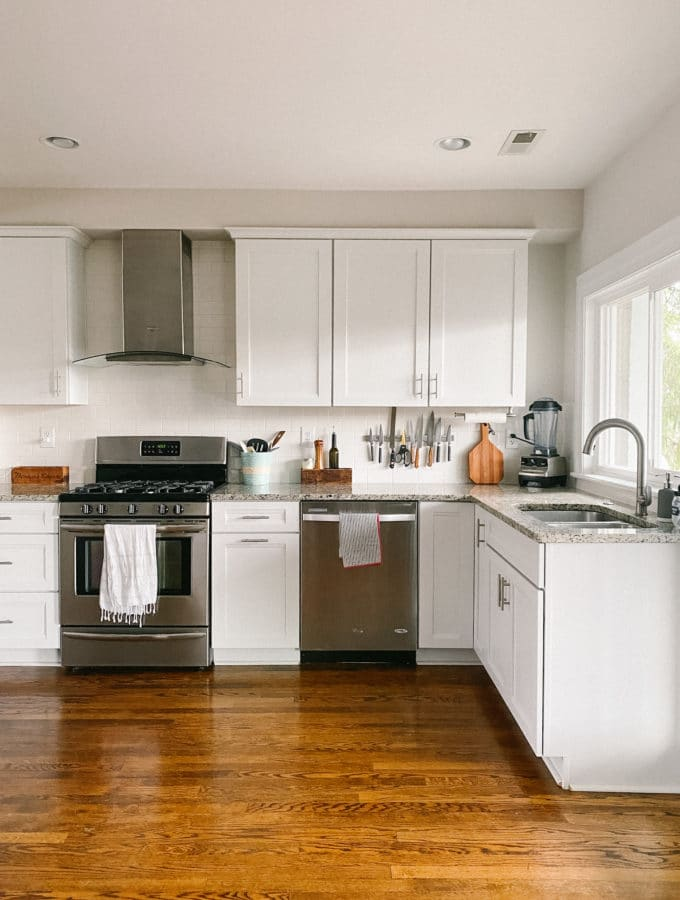 how to declutter your kitchen cabinets