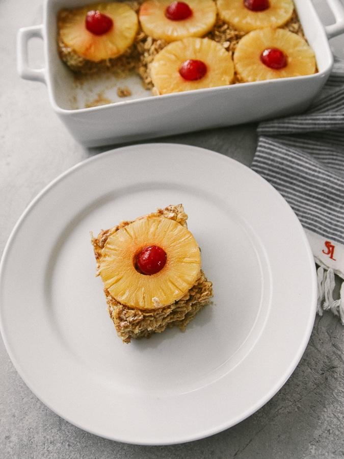 pineapple upsidedown oatmeal