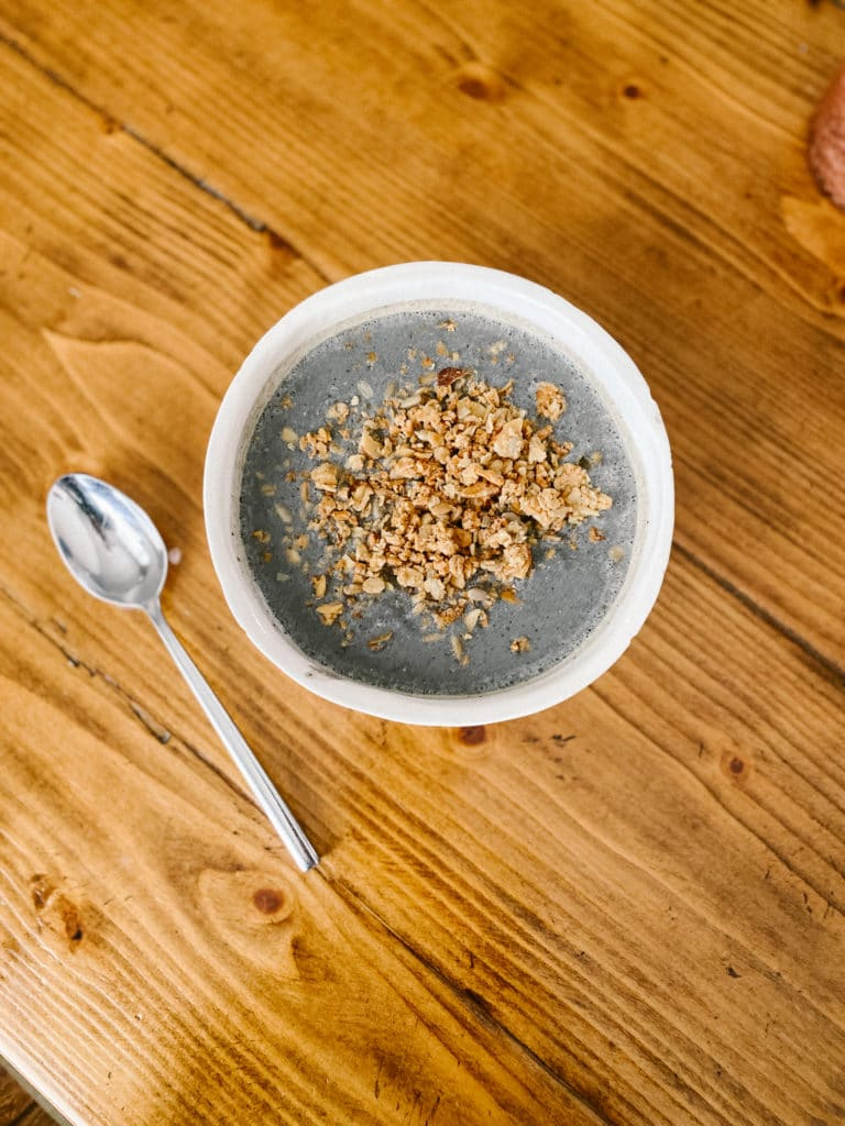 Daily Harvest smoothie bowl
