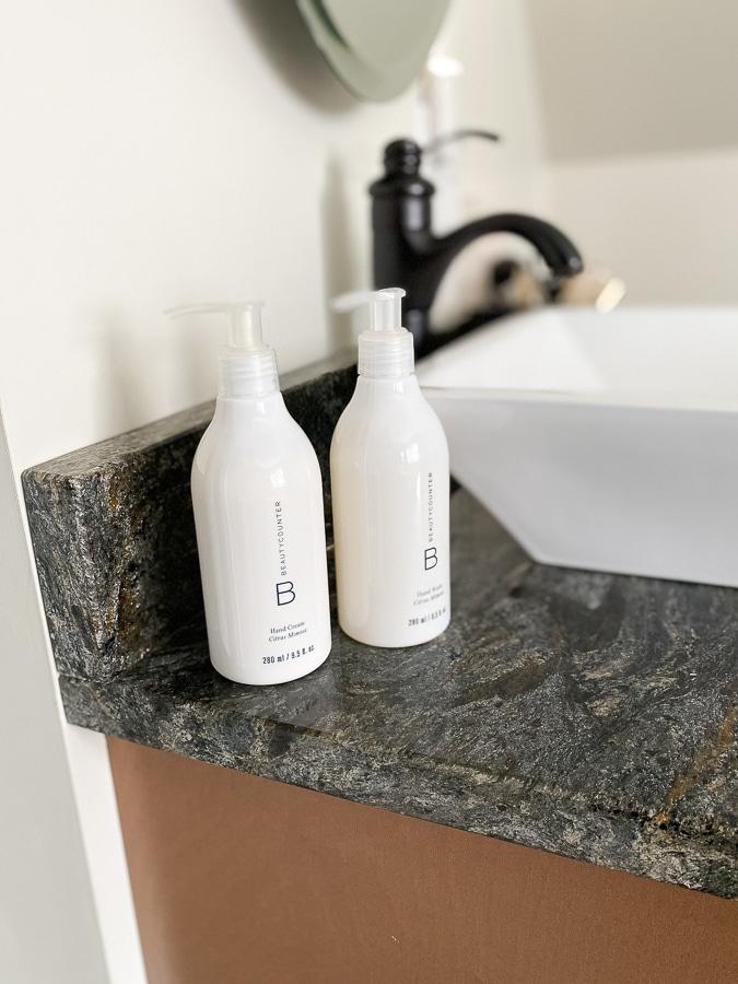 beautycounter hand wash and hand cream