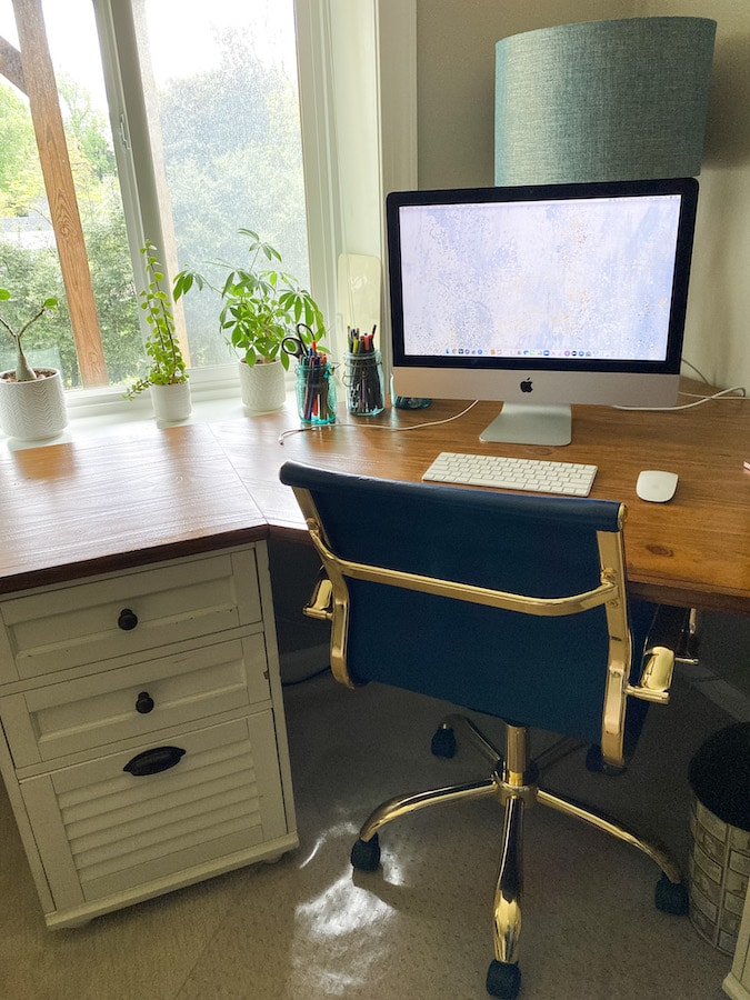home office tidy
