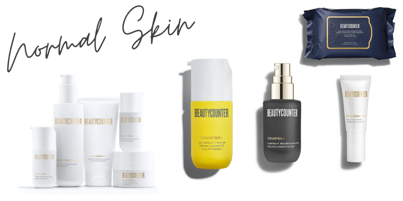 beautycounter products for normal skin