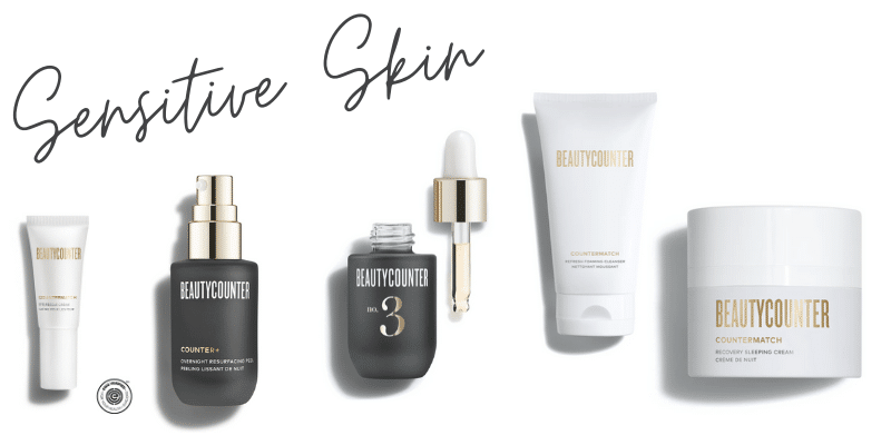 Beautycounter products for sensitive skin