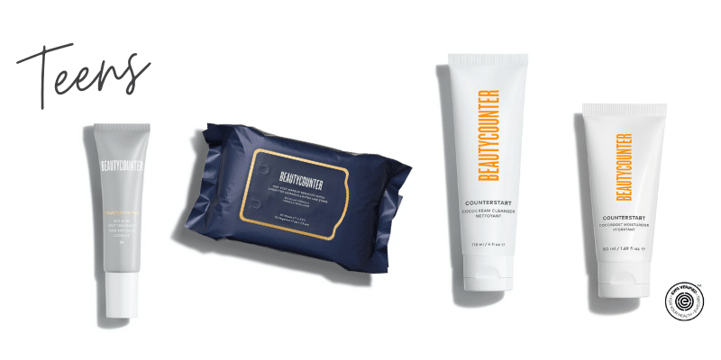 Beautycounter products for teens