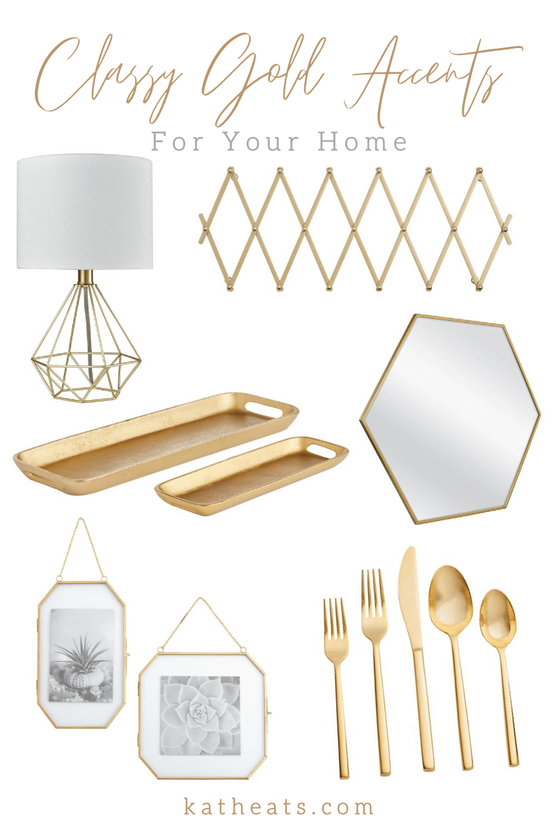 20 Gold Decor Accents For Your Home Kath Eats Real Food