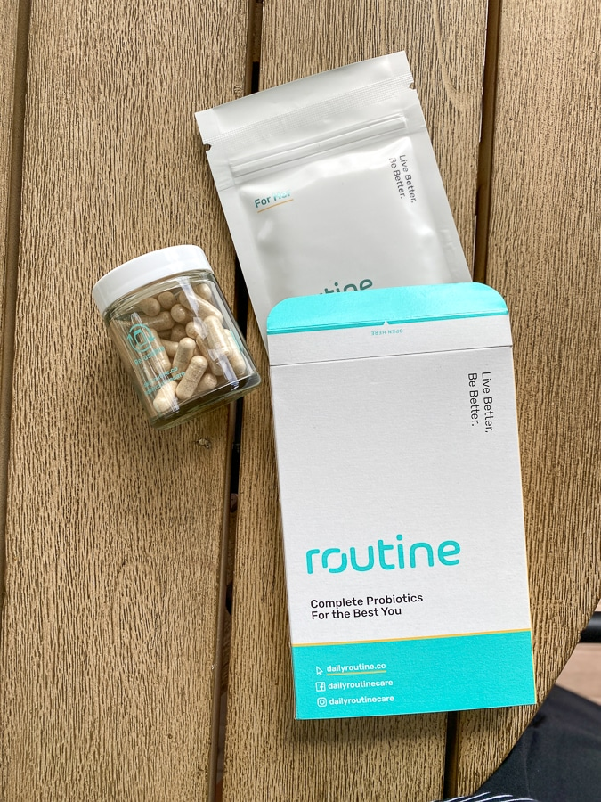 Routine refill box