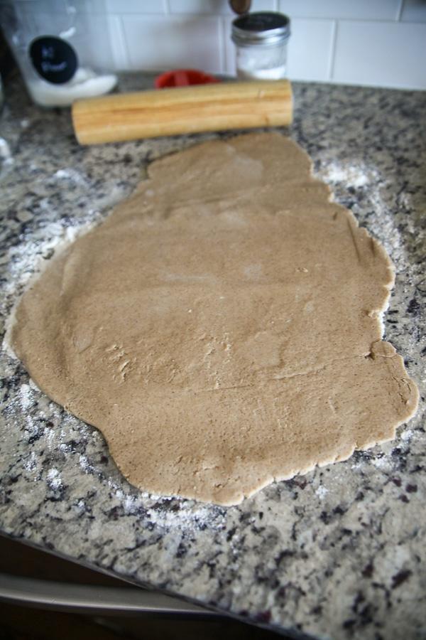 graham cracker dough
