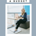 how to set up a budget graphic