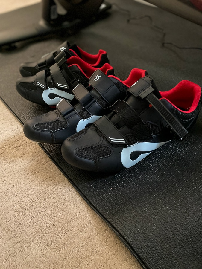 Peloton cycle shoes