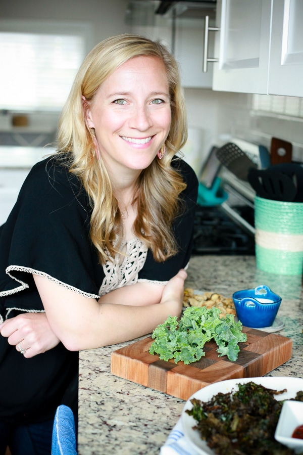 kath younger with kale