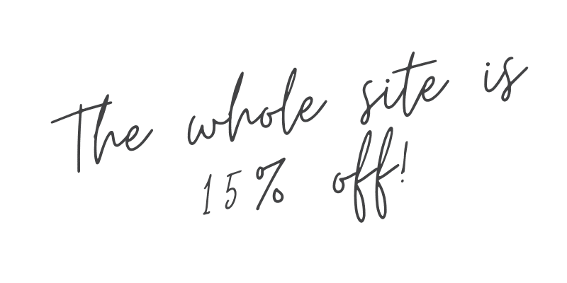 15% off graphic