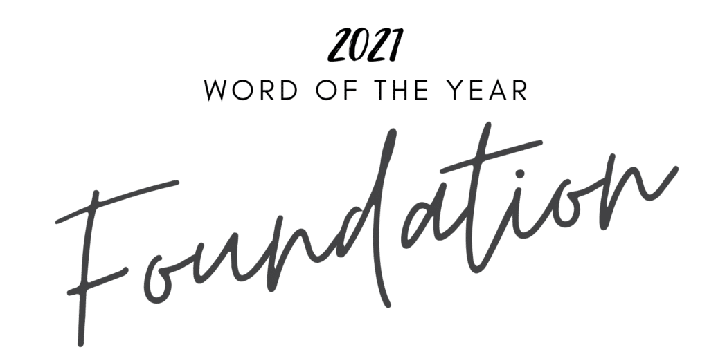 2021 word of the year graphic