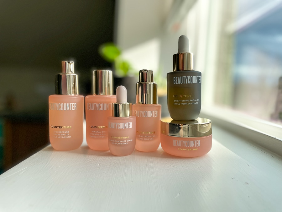 Countertime Deluxe Mini Set with brightening oil