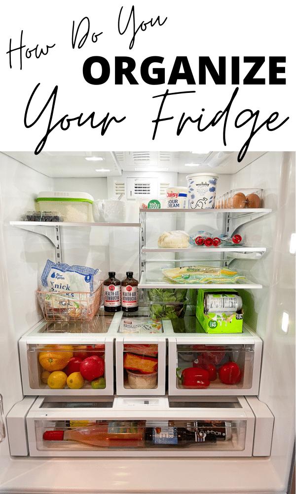 Gráfico de refrigerador organizado