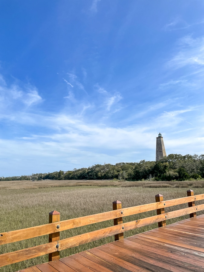 Old baldy lighthouse view