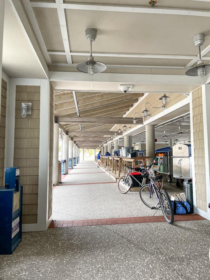 the bald head island ferry terminal