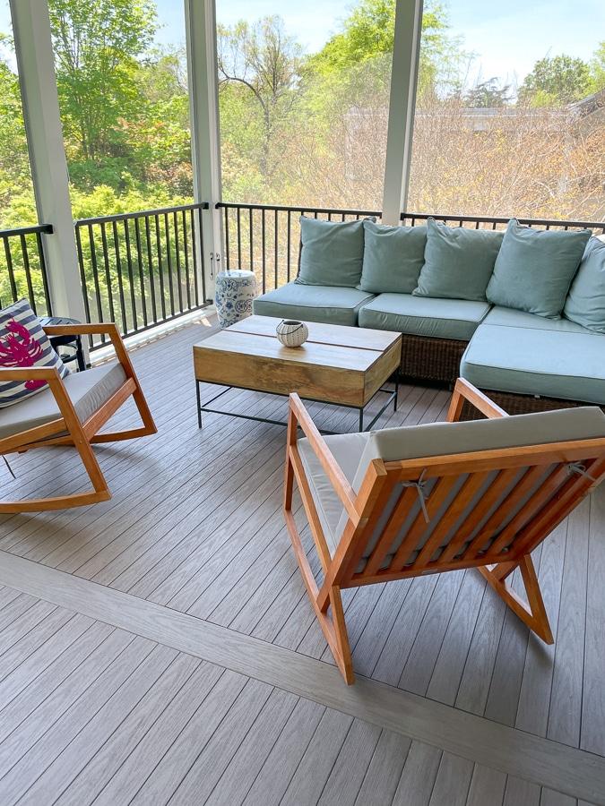 pottery barn porch furniture