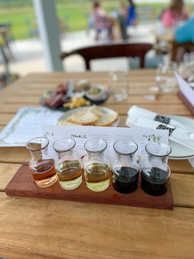 merrie mill wine flight