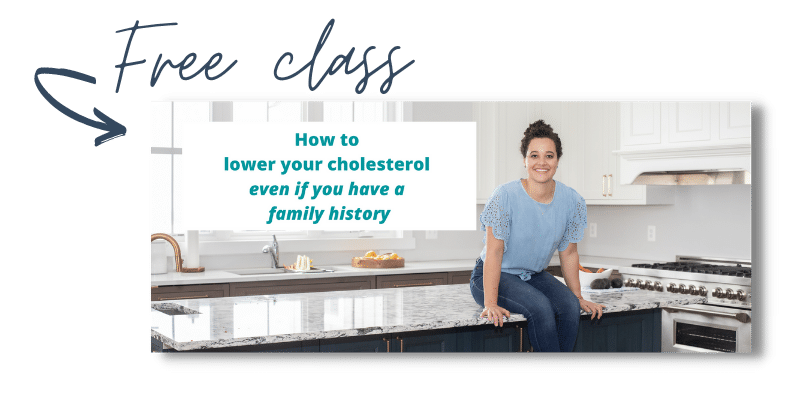 lower your cholesterol naturally free class graphic
